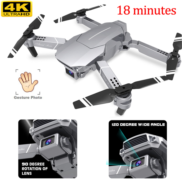 Mini Drones With Camera Hd Wifi Distance Drone 4k 1080p 720p Profesional Foldable Selfie Pocket Rc Drone With Hd Camera New 6ch
