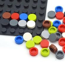 Flat Tile 1x1 Round Brick 450pcs Assemble Building Blocks DIY Educational Tech Parts Compatible All brand 98138 Toy for Children
