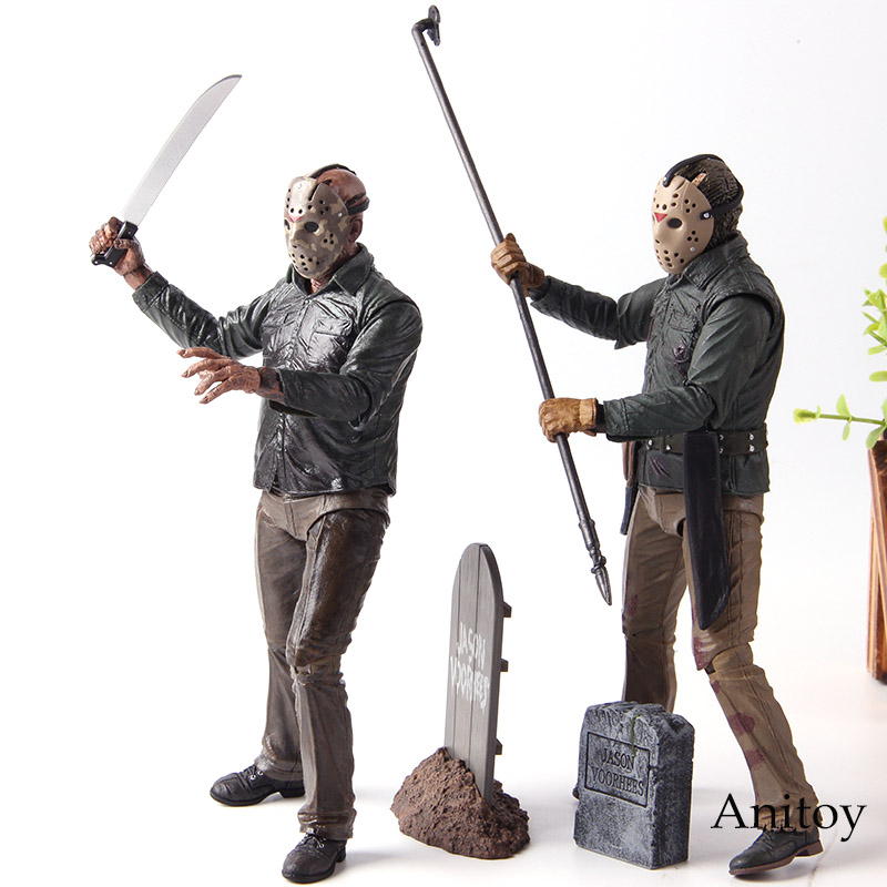 Image 2 - NECA Friday the 13th 2009 Deluxe Edition Jason Voorhees Action Figure PVC Horror Collectibles Model Toy Gift for FriendsAction & Toy Figures   -