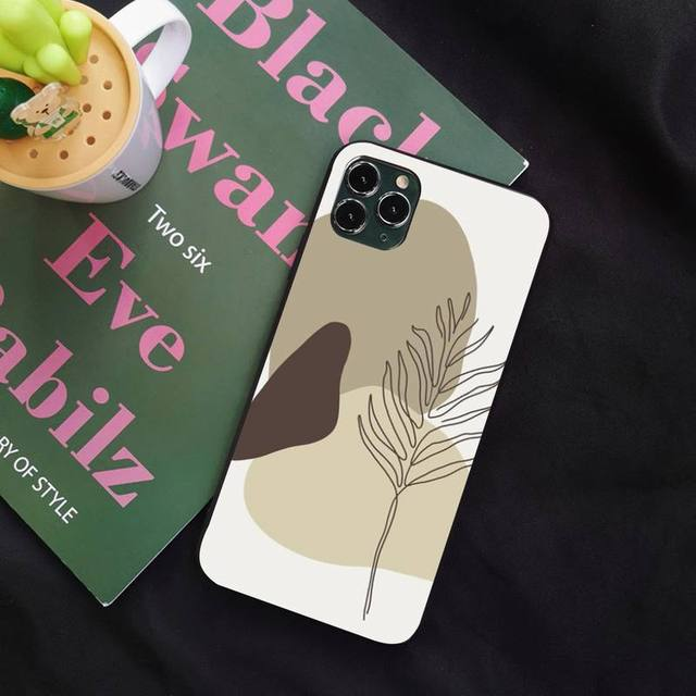 Vogue Lovely Floral Wallpaper Phone Case For Iphone 11 Pro Xs Max X 8 7 6s Plus 5 Se 11 Xr Case Case Soft Cover Phone Case Covers Aliexpress