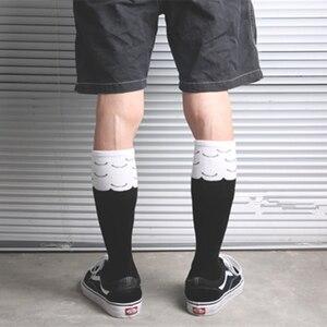 Бесплатная доставка; Модные носки до середины колена; Забавная курица; Цыпленок; Курица; Петух; Голень; Ножка; Лапка; Лапа; Talon Harajuku