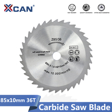 XCAN lame de scie électrique Mini, lame de coupe circulaire pour le travail du bois, disque à découper, 85x10mm, 36 dents