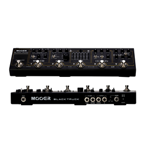 Image 5 - MOOER BLACK TRUCK 6 in 1 Combined Guitar Pedal Compressor +Overdrive +Distortion + EQ +Modulation +Delay/Reverb Built in Tuner