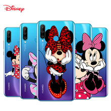 TPU Silicone Cover Lovely Minnie Mouse For Huawei P40 P30 P20 Pro P10 P9 P8 Lite E Plus 2019 2017 Phone Case