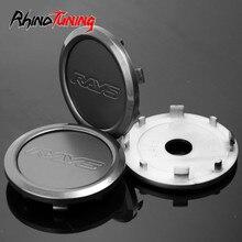 4pcs 68mm 62mm קרני סמל מרכז גלגל רכב Caps עבור קרני וולק ראסינג TE37 Ultra גלגלי G25 g50 חישוקי חישוקי כובע