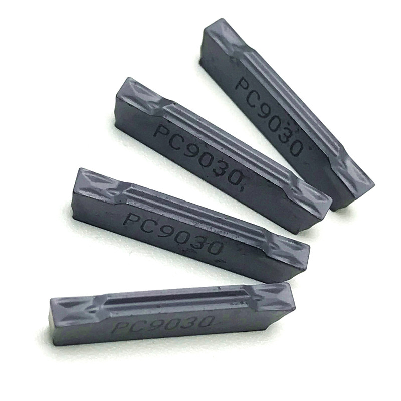 Hard Alloy MGMN200 G PC9030 NC3020 3030 Grooving Carbide Inserts Mgmn 200 Lathe Cutter Turning Tool Parting And Grooving Tool