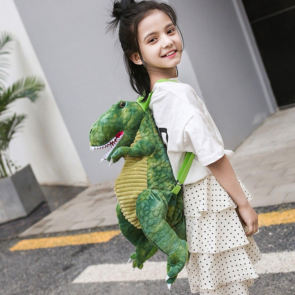 Dinosaur Backpack Shoulder-Bag Girls Children Cute Cartoon