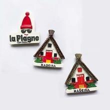 Refrigerator Magnets Islands Portugal-Souvenir Madeira Norway Home-Decoration 3d-Resin