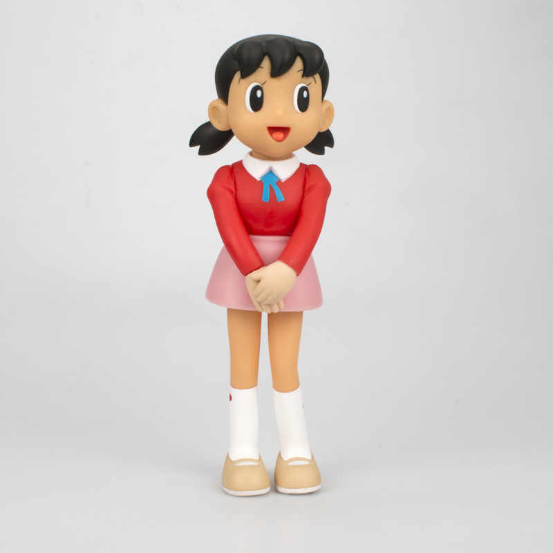 hot selling anime doraemon stand by me shizuka model nobita pvc