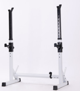 Weightlifting Barbell Bench Press Frame Sheathed Bed Fitness Equipment Sports Goods Home Squat Stand Fei Niaodeng
