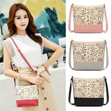 New Fashion Women Bag Hollow Pattern One-shoulder Diagonal Small Bag Fashion Mobile Wallet Ladies Crossbody Bags Bolsos Mujer