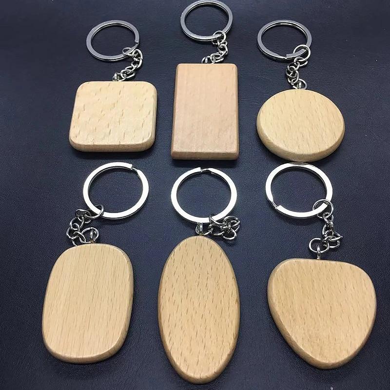 Cloud wood keychain beech
