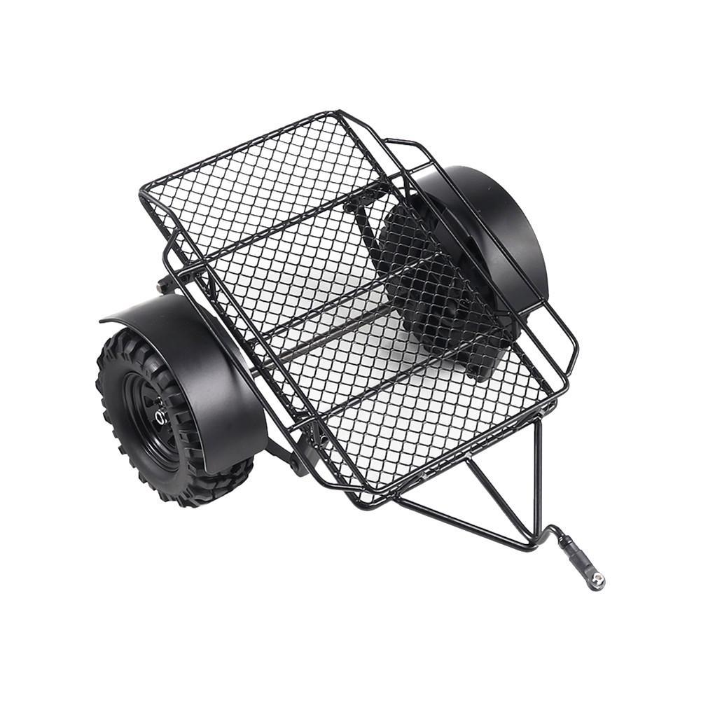 1/10 Радиоуправляемый автомобиль мини прицеп 220*205 мм Металлическая Сцепка крепление DIY модифицированный прицеп для радиоуправляемого гусени