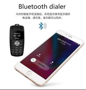 Image 2 - Mini llavero de teléfono con doble Sim, marcador de voz mágico, Bluetooth, grabadora de Mp3, Mini llave de coche para niños, teléfono móvil pequeño X6
