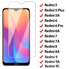 Szkło hartowane 9H dla Redmi 8 8A 7 7A 5 Plus ochraniacz ekranu dla Xiaomi Redmi 9 9A 9C 6 Pro 5A 6A K20 Pro szkło ochronne tanie tanio Perciron CN (pochodzenie) Przedni Film Redmi 5A Redmi 5 Plus Redmi 6 Redmi 7 Redmi 7A Redmi 8A Anti-Blue-ray Tempered Glass for Xiaomi Redmi 5 Plus