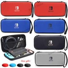 Przełącznik do Nintendo skrzynki pokrywa Nintendos przełącznik Nitendo EVA twarda torba do przenoszenia torba podróżna do przechowywania konsoli do gier Nintendo switch