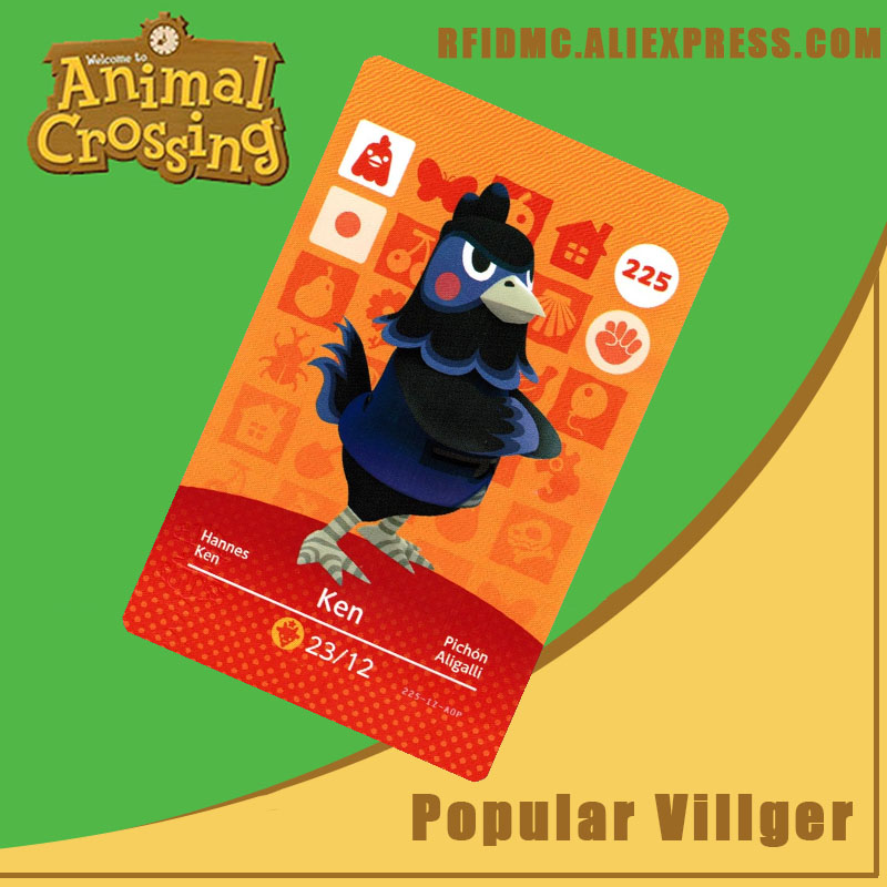 225 Ken Animal Crossing Card Amiibo For New Horizons
