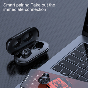 Image 5 - Waterproof 9D Stereo Music Headset B5 TWS Bluetooth Wireless Earphone 5.0 Touch Control Earbuds with 300mAh Power Bank