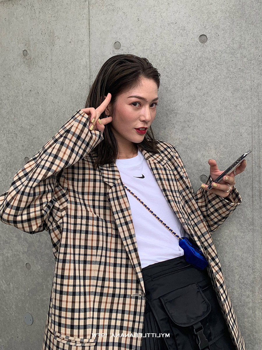 Vintage Plaid Ladies Blazer Khaki Casual Loose Suit Jacket Long Sleeve Blazer Negro Mujer Korean Spring Women's Clothing MM60NXZ