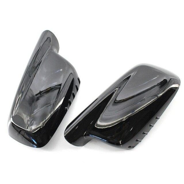 For BMW E46 E65 E66 745i 750i Mirror Cover 51167074236+51167074235 Mirror Cover Protable High Quality Newest Useful