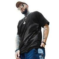Men's Cotton Casual T Shirt Harajuku Surf Skateboard T Shirt Streetwear China Print Gym Male Hip Hop Tops Tees Plus Oversize 7x