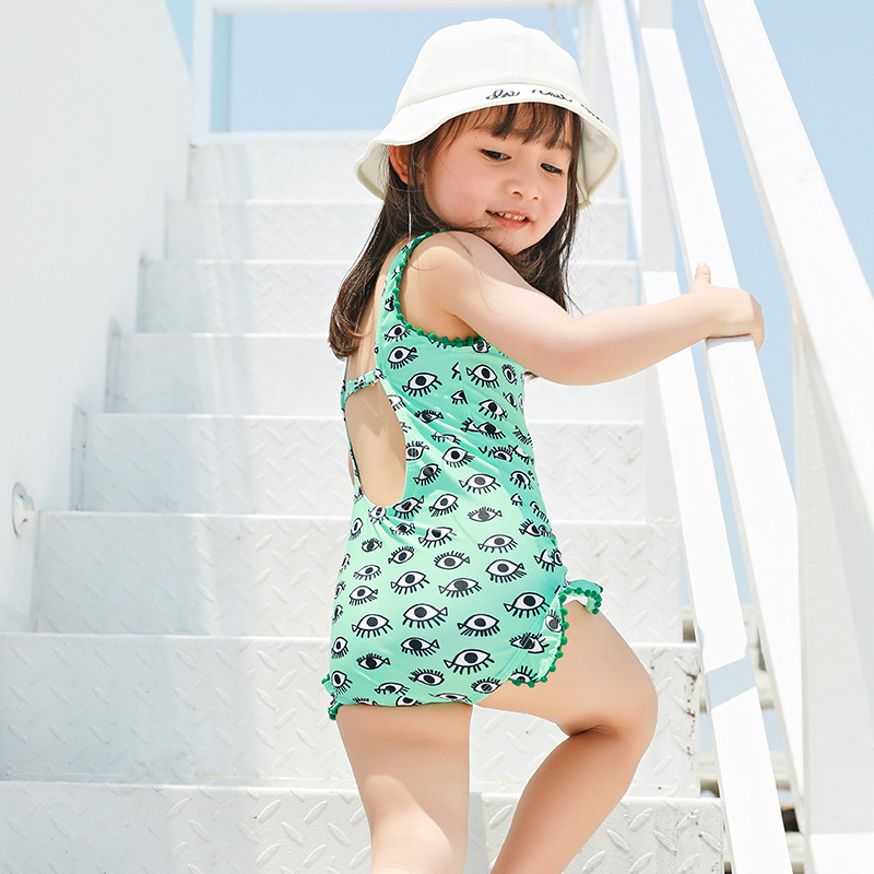KID'S Swimwear GIRL'S Girls South Korea Cute Skirt Tour Bathing Suit Baby Infant One-piece Small CHILDREN'S Princess Bikini