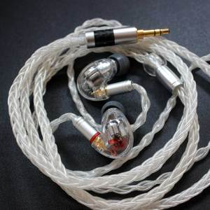 Image 2 - DIY SE846 Kulak Kulaklık 5BA Dengeli Armatür 10 Sürücü Birimleri HIFI Stereo Spor Gürültü Iptal Kulaklık Kablosu