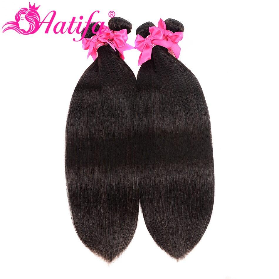 Hd13b29bb67a3468988b98fd085aafef2H Aatifa Brazilian Straight Hair Bundles With Closure Human Hair Bundles With Closure Remy Bundles With Closure Hair Extension