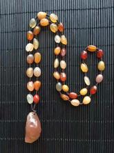Alxa Gobi stone wholesale natural color agate necklace Accessories necklace gemstone natural raw stones minerals rocks