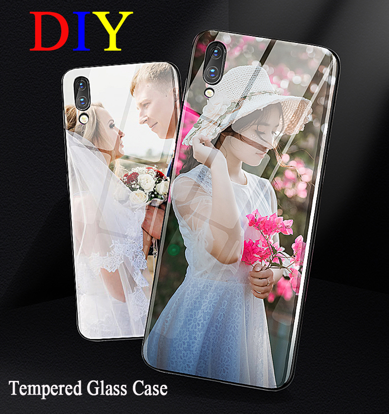 DIY Customize image <font><b>Tempered</b></font> <font><b>Glass</b></font> <font><b>Case</b></font> For <font><b>Samsung</b></font> Galaxy A50 Cover For <font><b>Samsung</b></font> A10S A30 A71 S20 A40 <font><b>A70</b></font> A51 S7 S8 S9 S10plus image