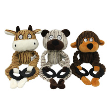 Dog Toys for Small Large Dogs, Dogs Bite Resistant Toy, Puppy Squeak Interactive Chew Toy Pets Accessories Dog Supplies