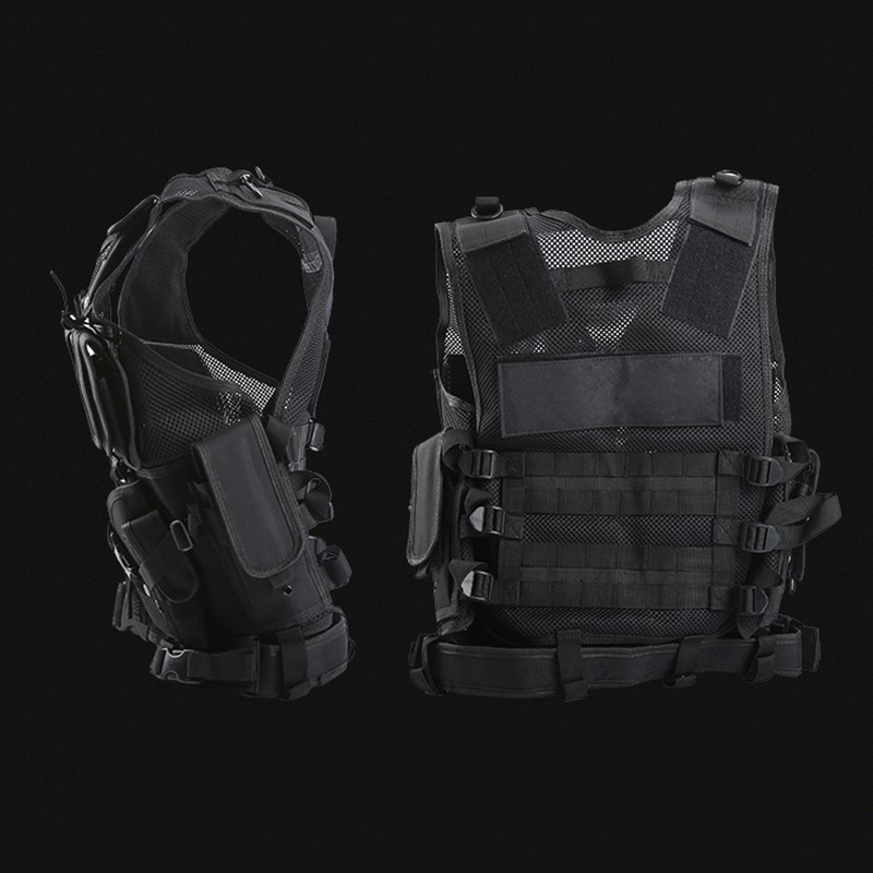 Military Tactical Vest Military Vest Men Paintball Camouflage Molle Hunting Vest CS Outdoor Clothing Hunting Vest