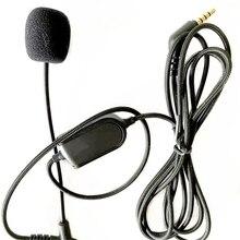 VoIP אוזניות כבל עם מיקרופון עבור Boompro משחקי אוזניות V MODA Crossfade M 100 LP LP2 M 80 אודיו קו עם אילם