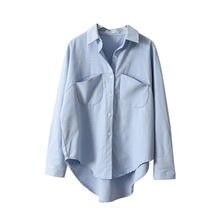 Винтажные женские рубашки blusas roupa весенние топы с длинным
