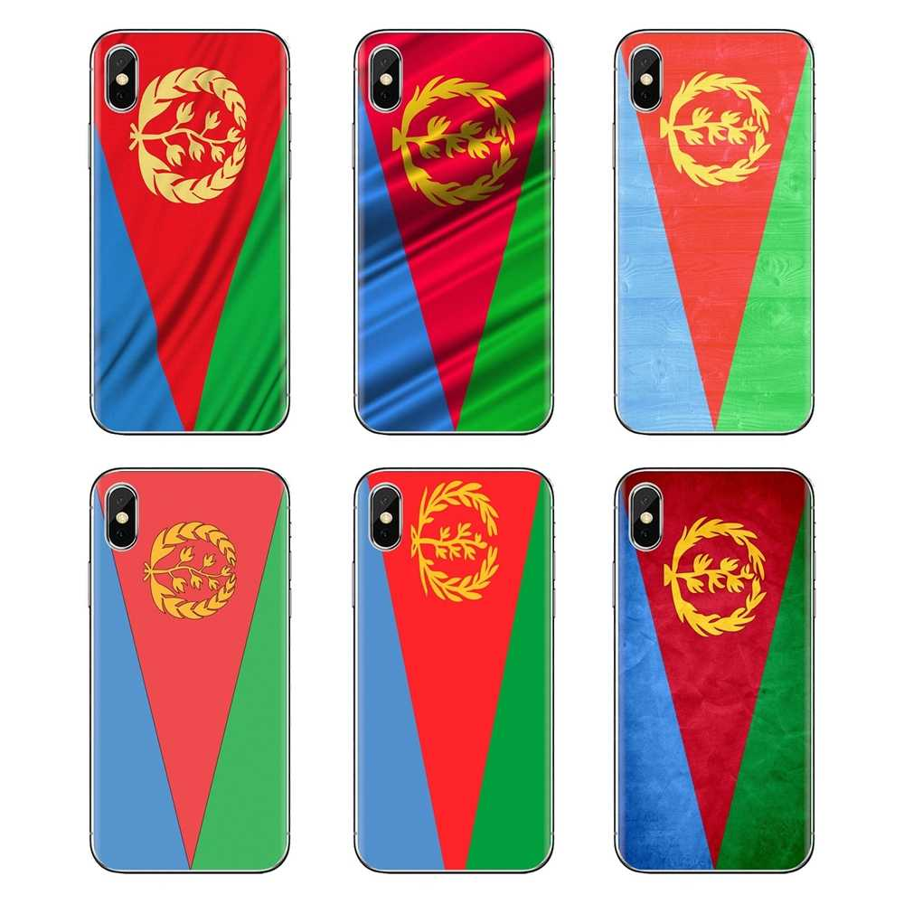สำหรับ HTC One U11 U12 X9 M7 M8 A9 M9 M10 E9 Plus Desire 630 530 626 628 816 820 830 TPU กระเป๋า Eritrea Flag world บินแบนเนอร์