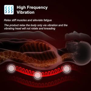 Image 3 - KLASVSA elektrikli taşınabilir ısıtma titreşimli sırt masajı sandalye yastık araba ev ofis lomber boyun yatak ağrı kesici