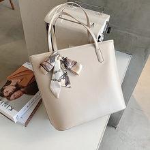 Простая повседневная большая сумка женская 2020 Новая модная