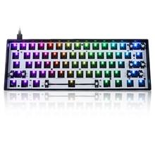 Программируемая Проводная Bluetooth клавиатура GK61 GK61X GK61XS RGB Hot Swap