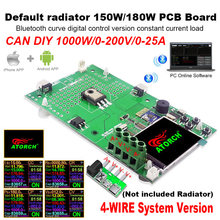 Probador USB de 4 cables, 1000W, carga electrónica, batería de litio, monitor de capacidad, carga de descarga, fuente de alimentación, medidor, placa PCB