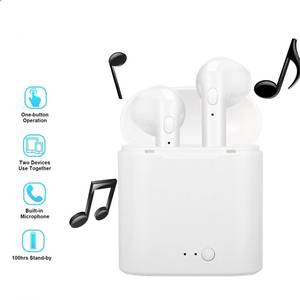 Image 2 - I7s Tws mit Lade Box V 5,0 Bluetooth Kopfhörer Drahtlose Ohrhörer Freihändiger Kopfhörer Cordless Headset für iPhone Xiaomi Telefon