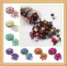 Оптовая продажа, бусины из акрила в случайном порядке 20 г, бусины в стиле «сделай сам» для изготовления браслетов ручной работы, аксессуары ...
