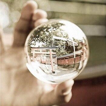 2020 HOT Klar Glas Kristall Ball Healing Kugel Fotografie Requisiten Lensball Decor Requisiten Foto Geschenk Für Outdoor Fotografie #08