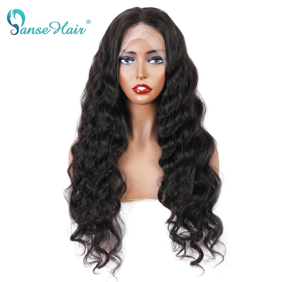 Panse Hair Brazilian Loose Wave Wig Lace Front Human Hair Wigs For Women Pre Plucked Hairline 13x4 Lace Front Wig 150% Remy Hair