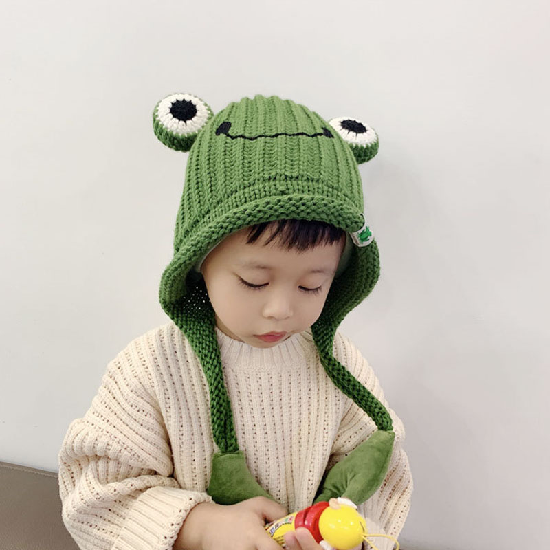 Bonnet dHiver Animal Chapeau enfants en Laine dHiver Chapeau Echarpe ensemble Chapeau Chaude /à Dessin animaux chapeau chouette avec lEcharpe