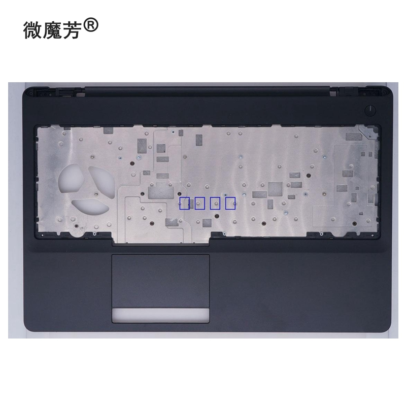 GZEELE New for <font><b>Dell</b></font> Latitude 5570 E5570 / Precision <font><b>3510</b></font> laptop Upper Case Cover Palmrest without Touchpad Assembly A151N5 image