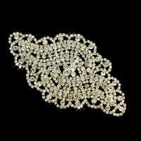 30Pcs Flower Glass Rhinestone Applique Rhinestones for Wedding Dresses Sew On Rhinestone For Costume Decoration