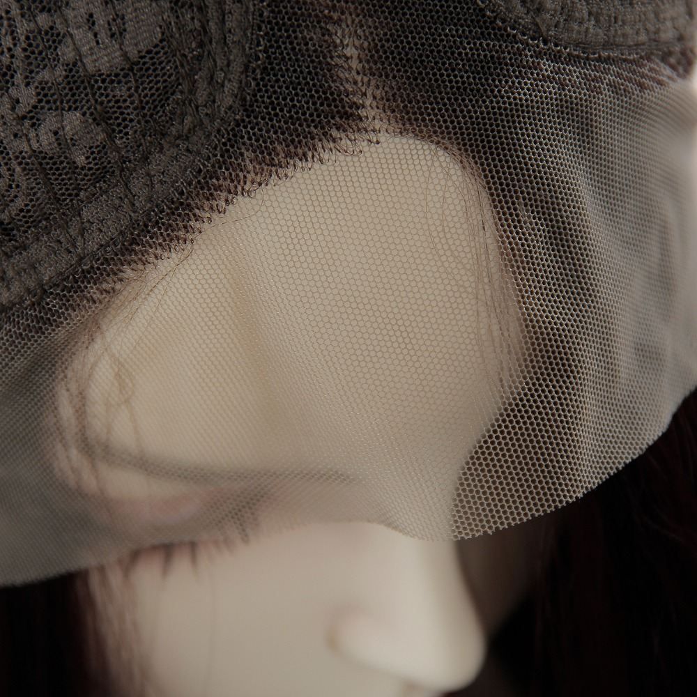 Perucas para cabelo sintético perucas cosplay resistente ao calor com franja preto