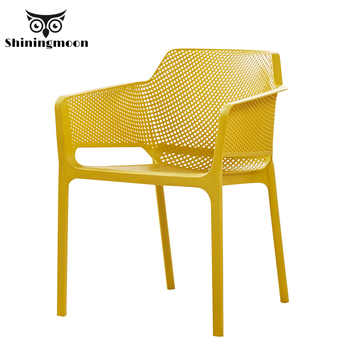 Nordic PP Plastic Restaurant Dining Room Chairs Comedores Modernos Muebles Lounge Chair Family Bedroom Learning Plastic Chair - DISCOUNT ITEM  20% OFF All Category
