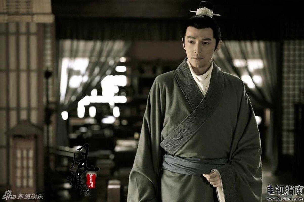 Jeu de télévision Lang Ya Bang Nirvana dans le feu acteur Mei Chang Su homme officier de justice épée hommes Hanfu Costume beaucoup de dessins cadeaux de Cosplay - 6