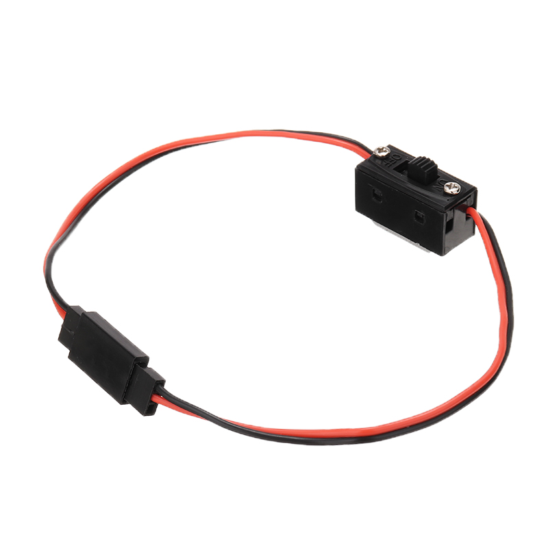 1pcs LED Lights Wire Light On/off Control Power Switch for 1/10 1/8 RC Rock Crawler Model Car Part Accessories(China)